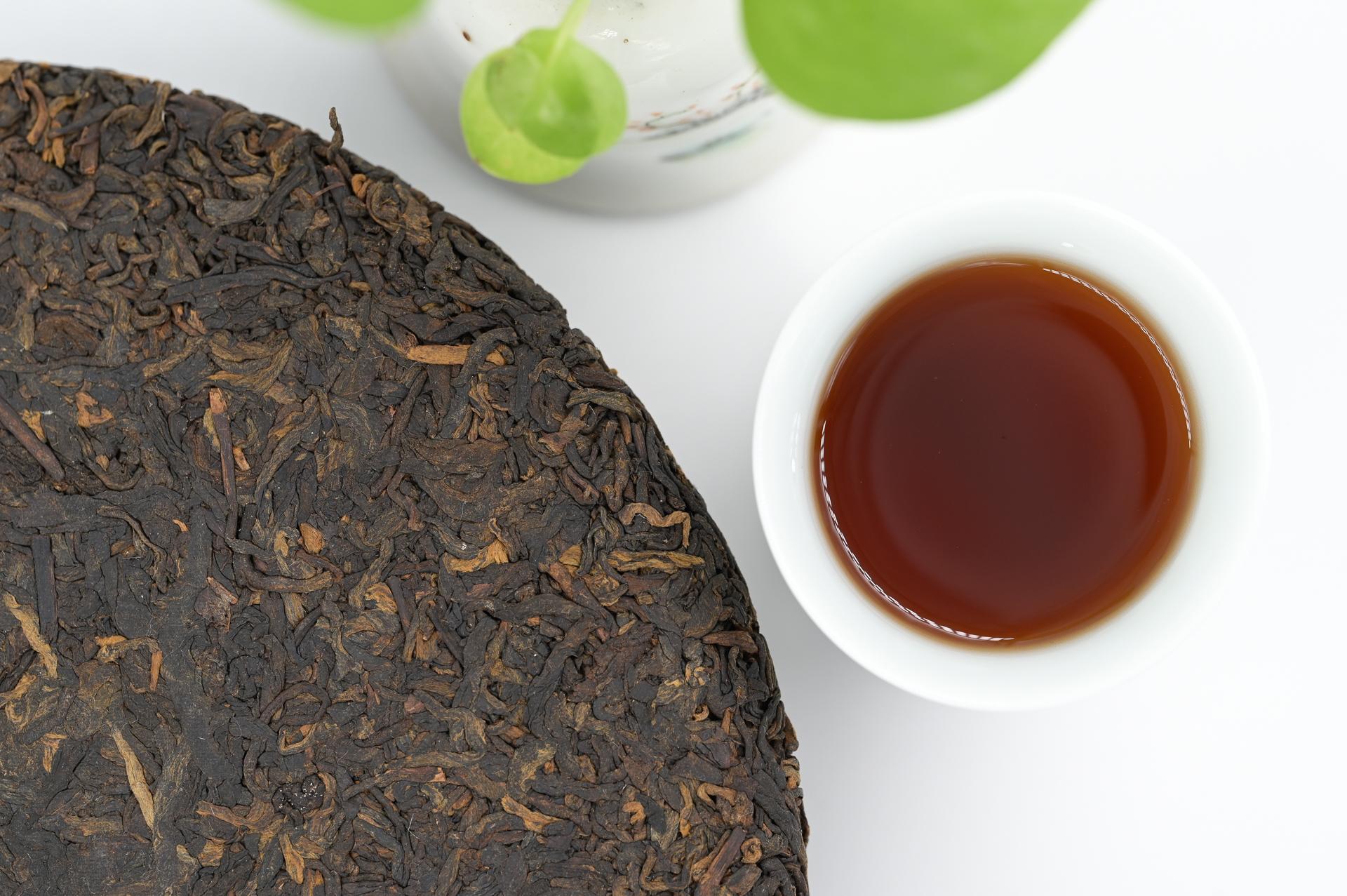 云系列-古树熟茶饼