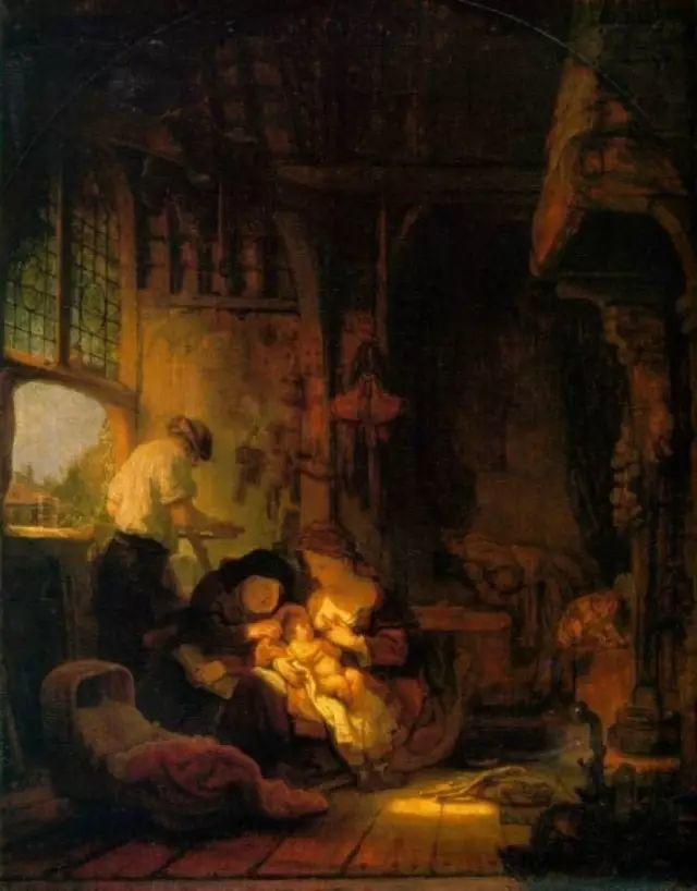 荷兰最伟大画家伦勃朗经典油画作品高清全集(269张)