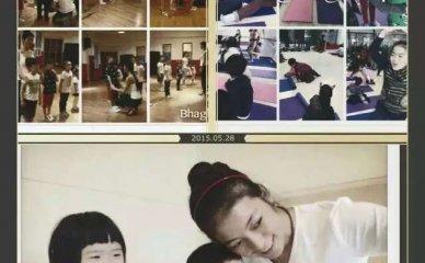 儿童瑜伽课堂