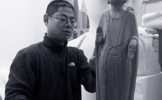 李冰和他的佛像